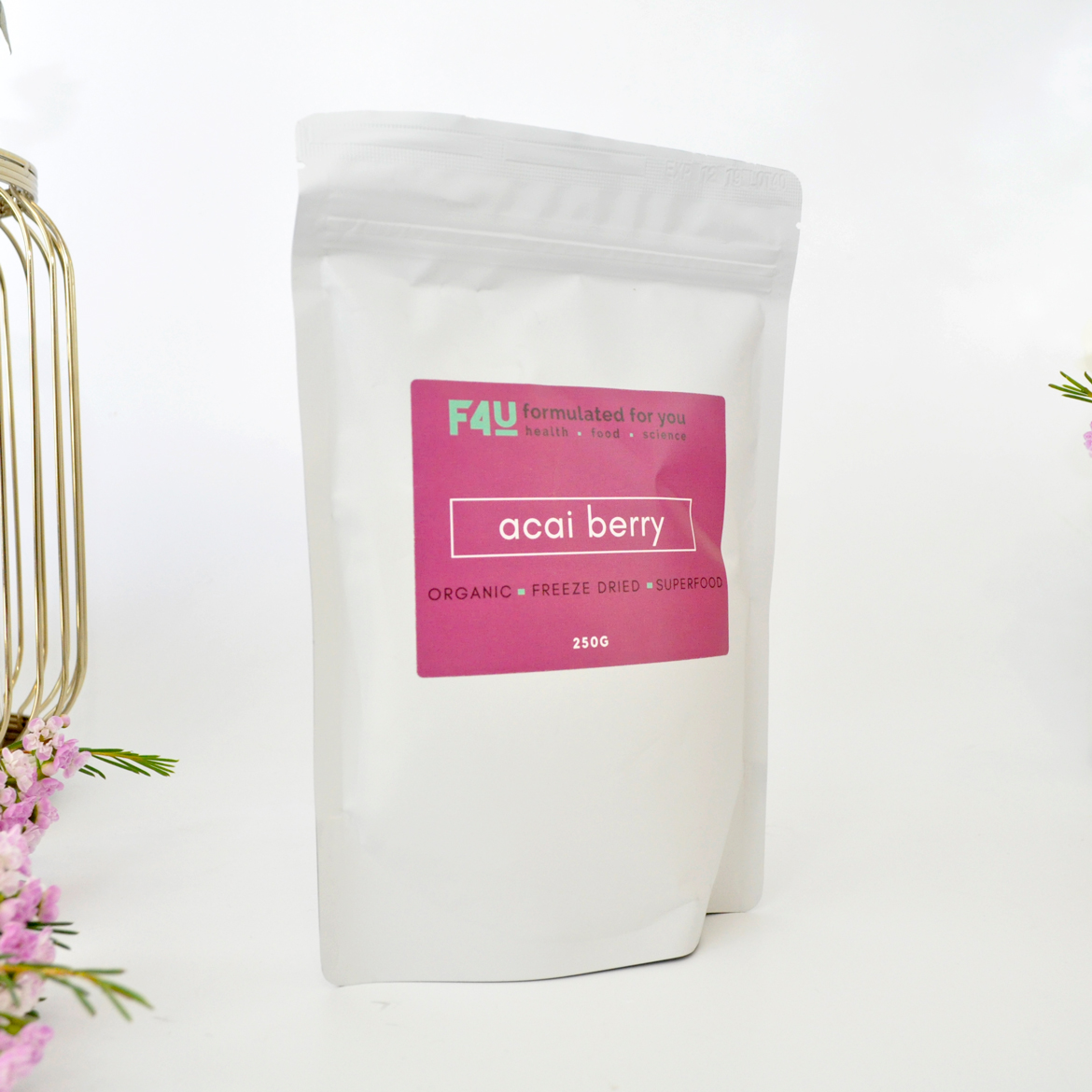 Formulated For you Organic Acai Berry Powder