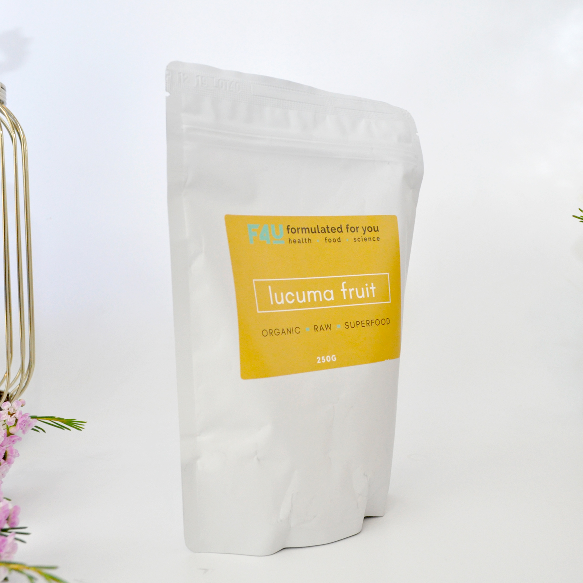 Formulated For you Organic Lucuma Fruit Powder