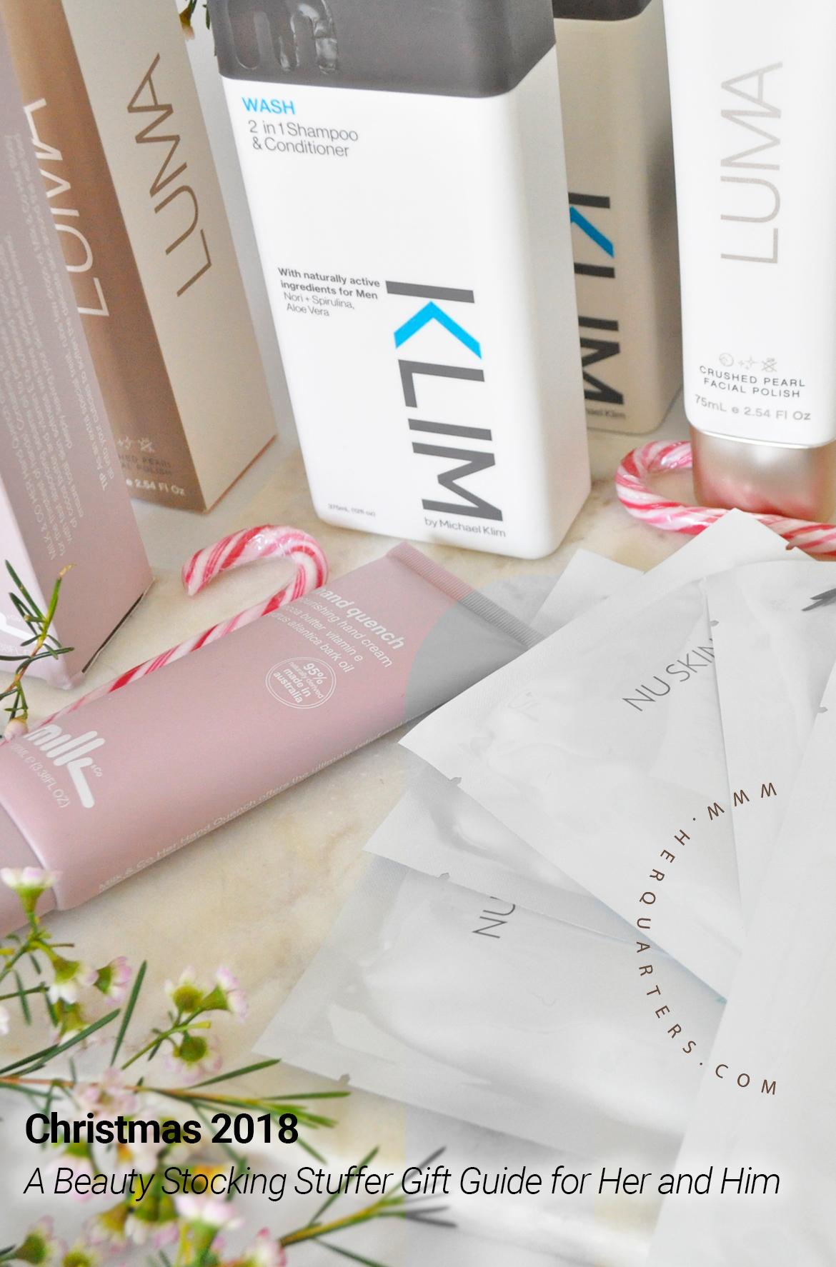 2018 Xmas stocking gift guide