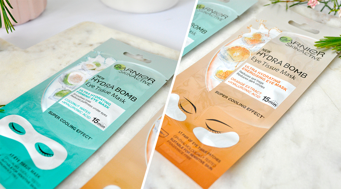 Garnier Skin Active New Hydra Bomb Eye Tissue Masks