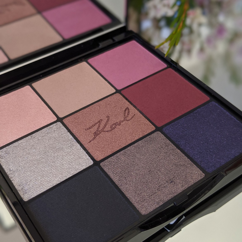 L'Orèal Paris x Karl Lagerfeld eyeshadow palette