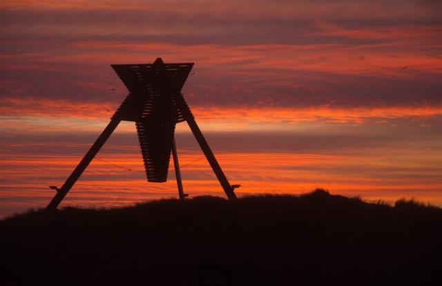 Sunset at Blokhus Strand