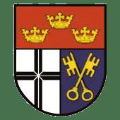 Gezeichnetes Wappen von Erpel