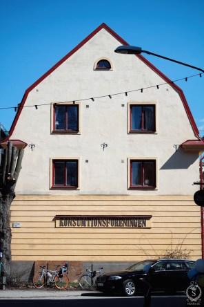 Konsumtionshuset, nuvarande Robin Delselius Bageri.