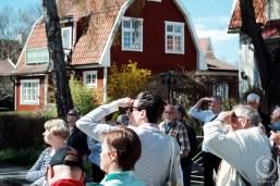 """Gustav """"Rävjägarn"""" Bergström spanar på arkitektur."""