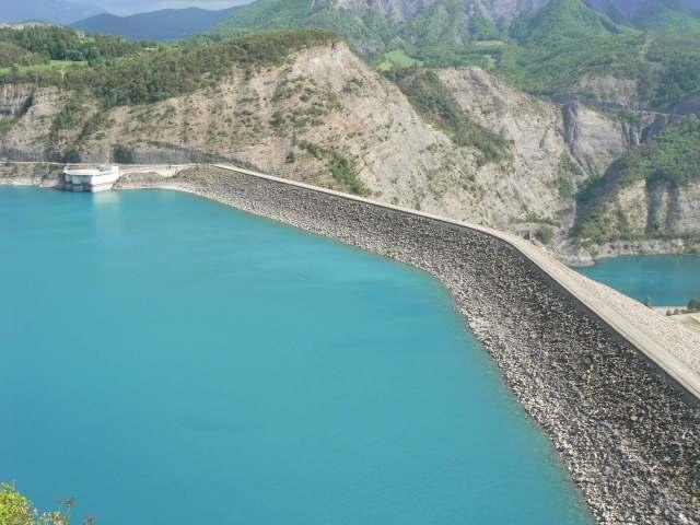 Barrage de Serre Poncon