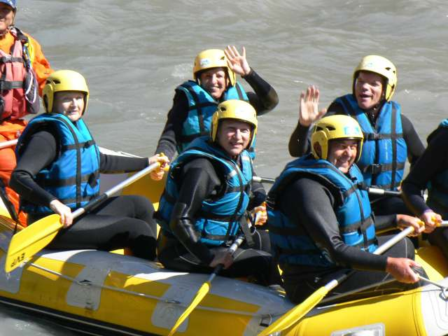 Rafting sur l'Ubay