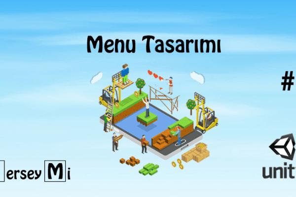 Unity 2D Oyun Tasarımı Ders9 | Menu Tasarımı (Canvas)