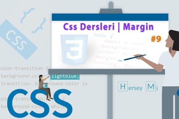 Css Ders 9 | Margin