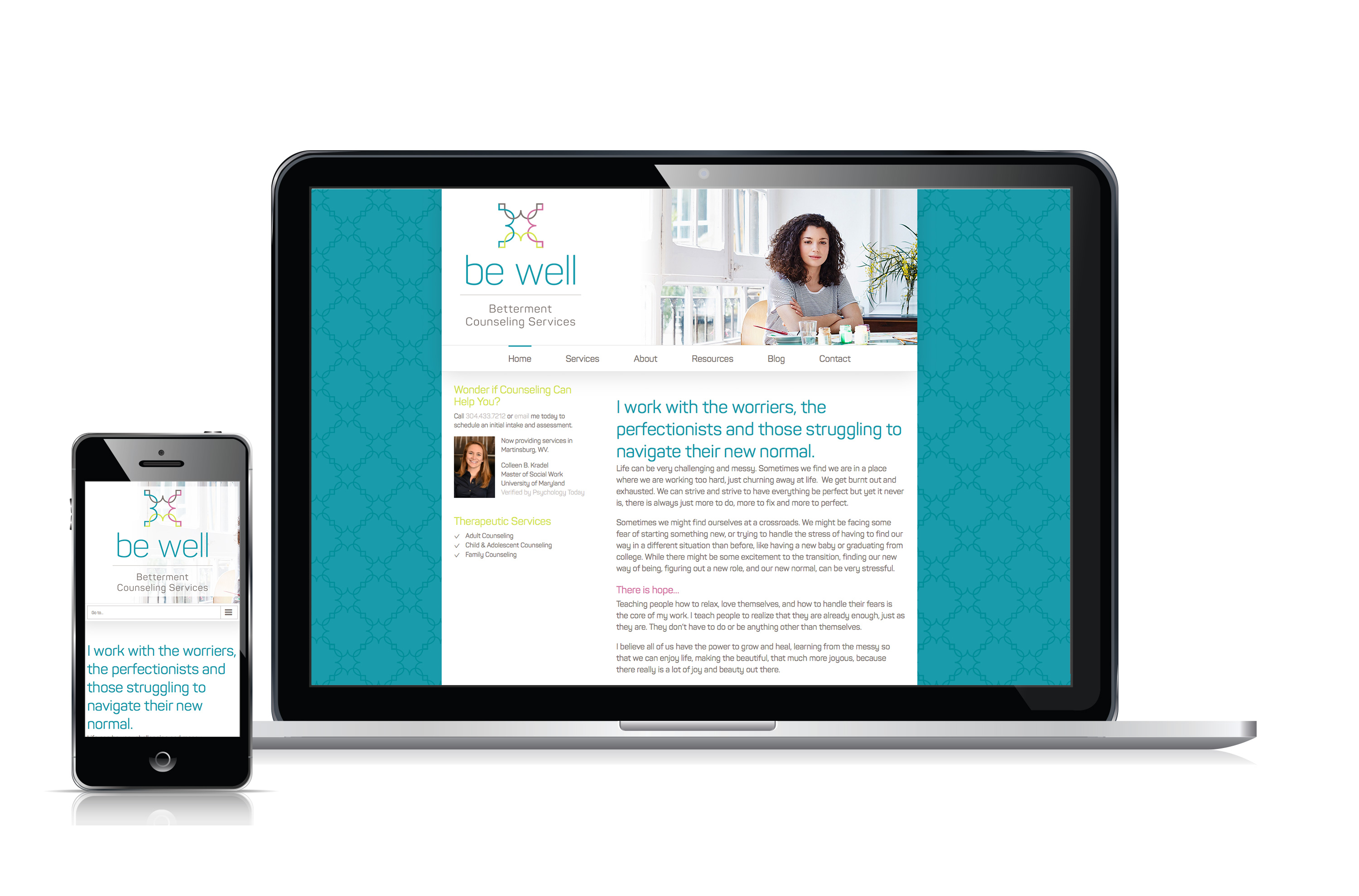 Be Well Counseling Website