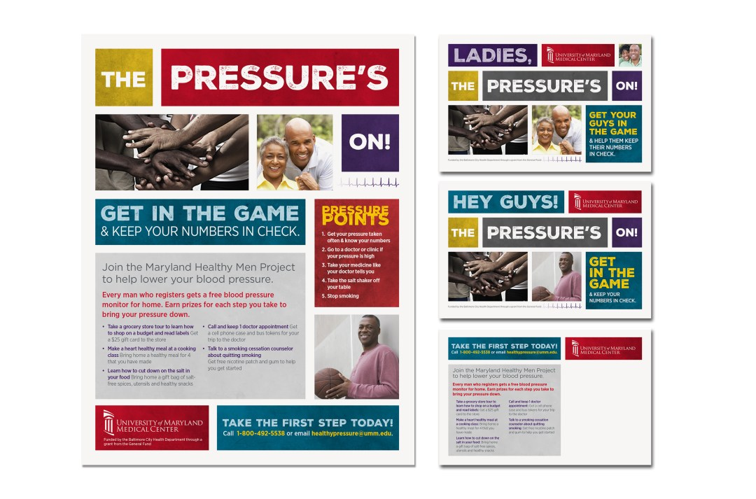 Blood Pressure Awareness Outreach Collateral