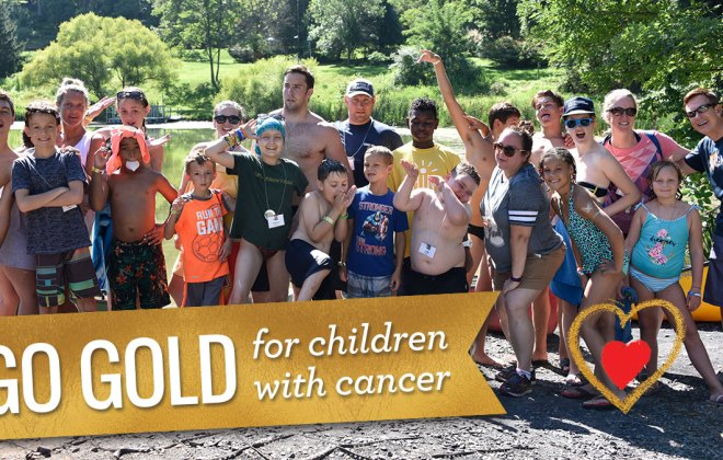 Go Gold for children with Cancer, with Special Love for Childhood Cancer Awareness Month