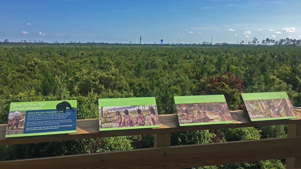 Gulf Oak Ridge Trail Signs