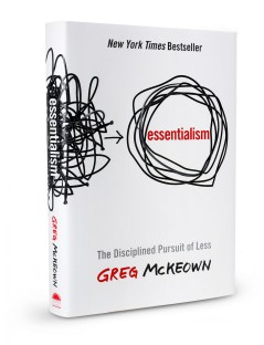 essentialism book by Greg McKeown