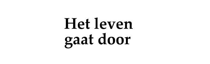 Doorleven na overlijden…