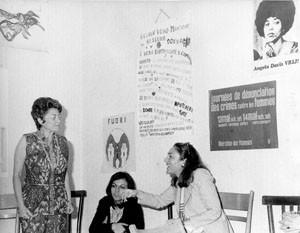 riunione Movimento femminista romano Pompeo Magno herstory  luoghi donne gruppi lesbiche Roma archivia