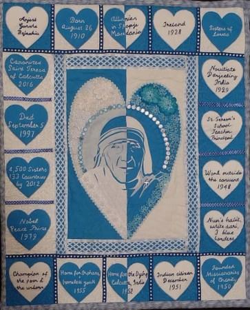 A Loving Tribute to Mother Teresa: Turning Negatives Into Positives © Meena Schaldenbrand