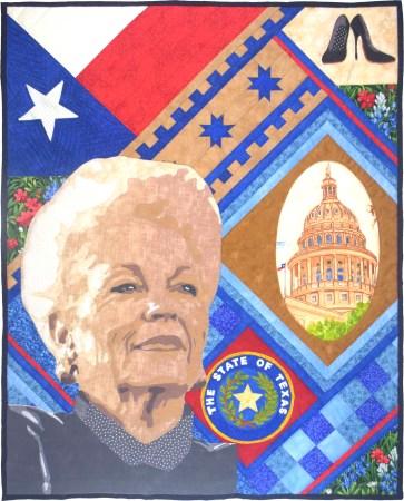 Texas Governor Ann Richards © Teresa P Bristow