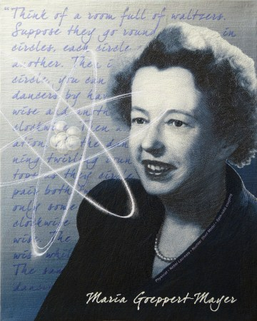 Maria Goeppert-Mayer © Tanya A. Brown