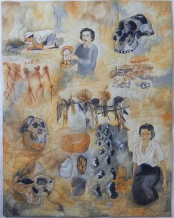 Mary Leakey, Paleoanthropologist © Betty Hahn