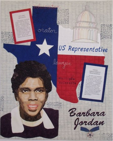Barbara Jordan © Julie Hallquist