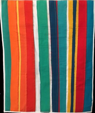 Color Study: Tribute to Alma W. Thomas © Sandy Teepen