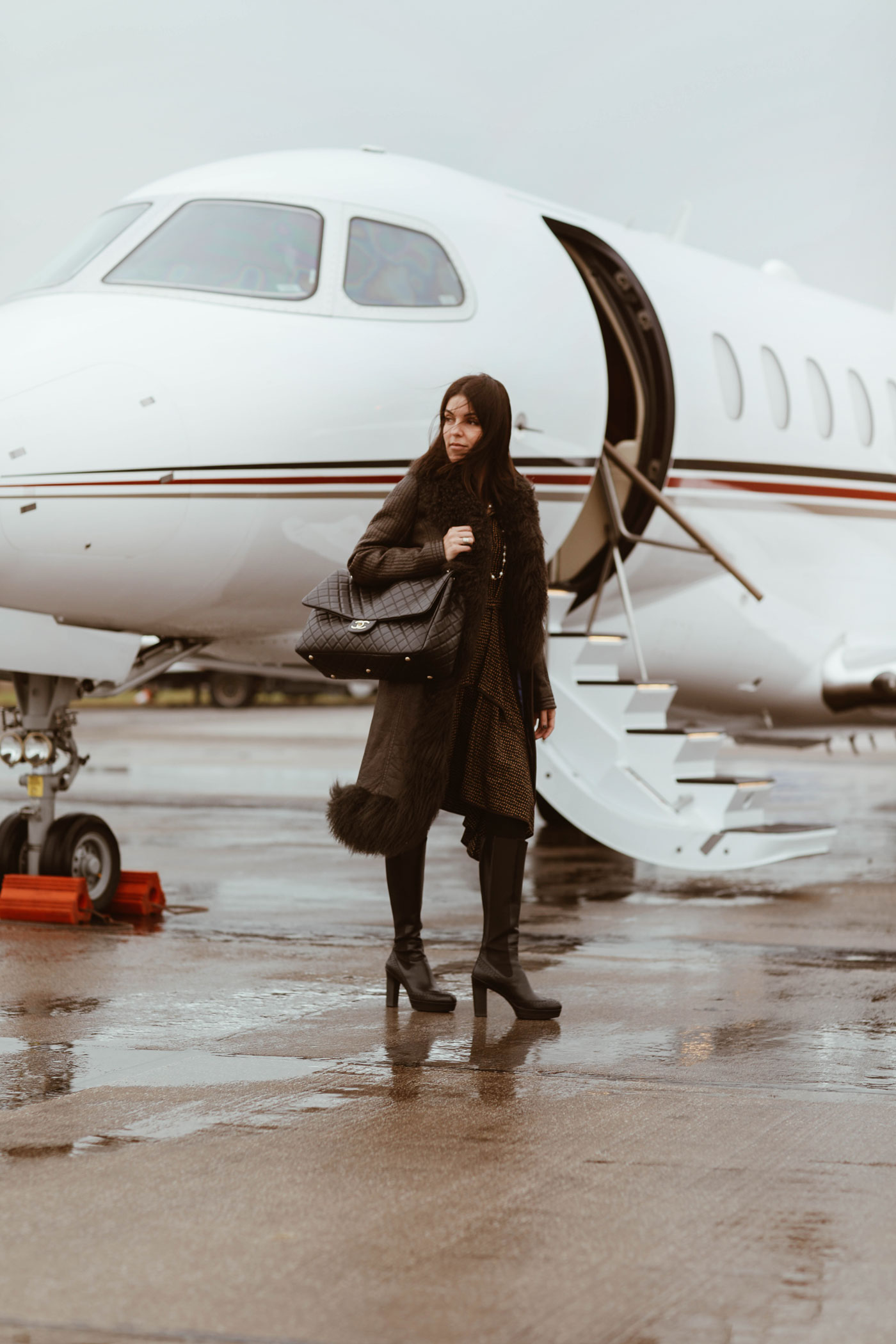 With Netjets to Scotland