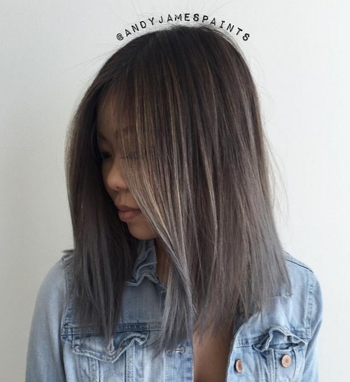 Image Result For Long Black Ombre Hair