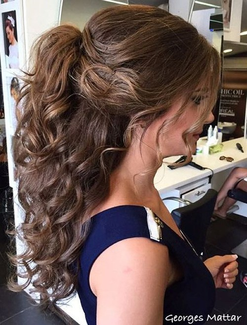 Image Result For Cute Ponytails For Long Hair