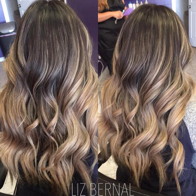 Image Result For Long Hair Styles And Color