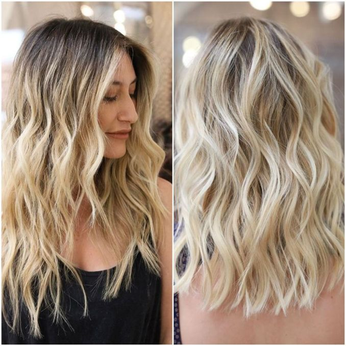 Image Result For Balayage Hair Color Ideas With Blonde Brown And