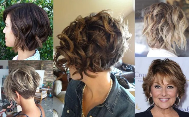 30 Short Hairstyles For Thick Hair 2018 Women S Haircuts