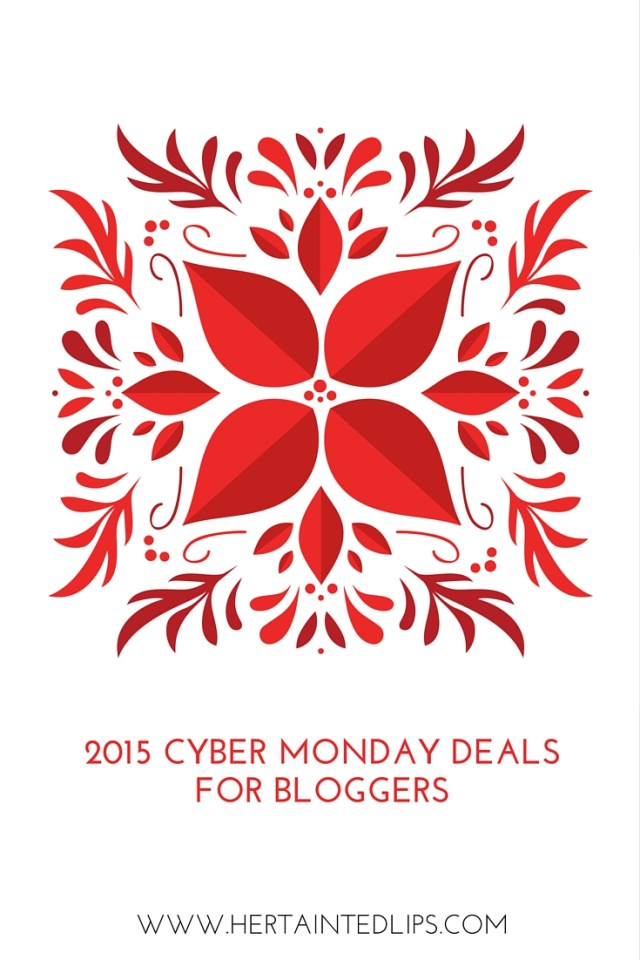 2015 cyber monday deals for bloggers