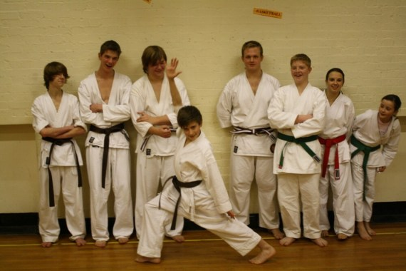 Gradings finished...Relief!