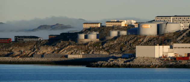 Picture showing Fjord