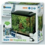 Aquarium start 50 tropical kit is er eentje voor de starter