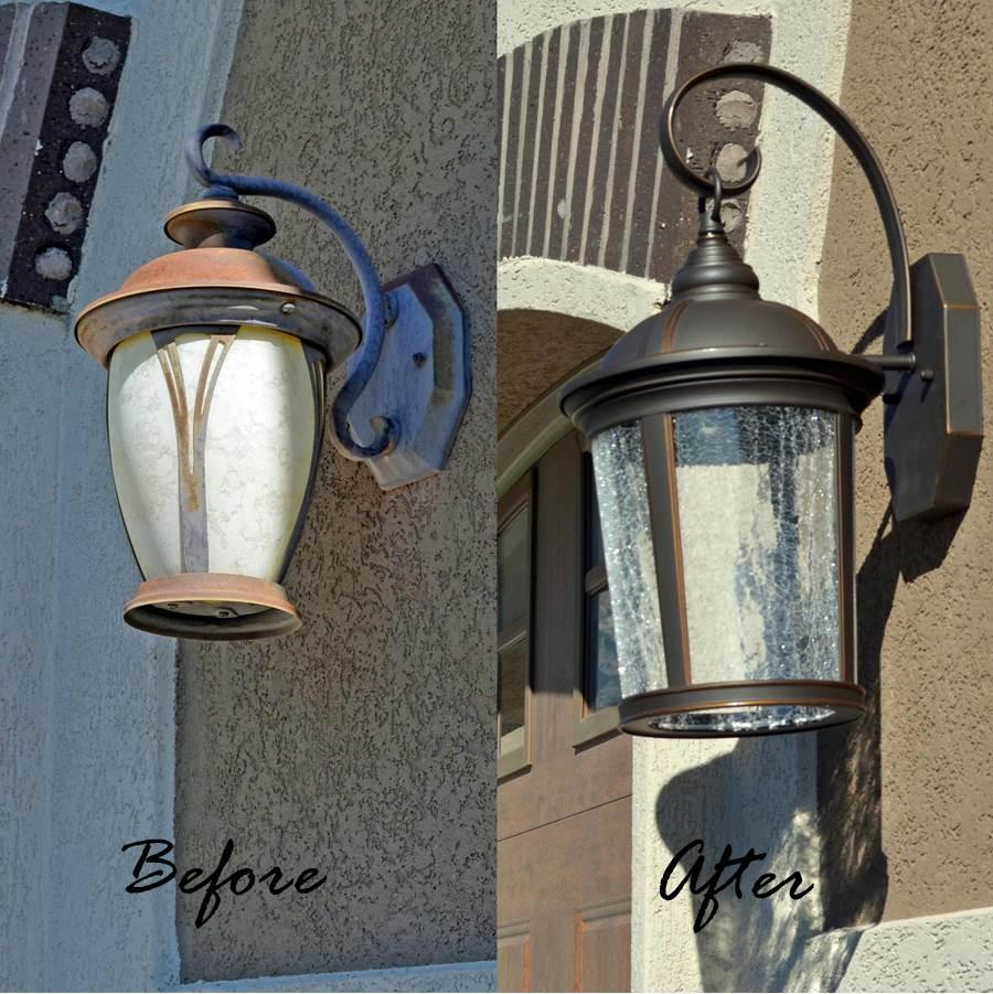 Led Barn Light Home Depot