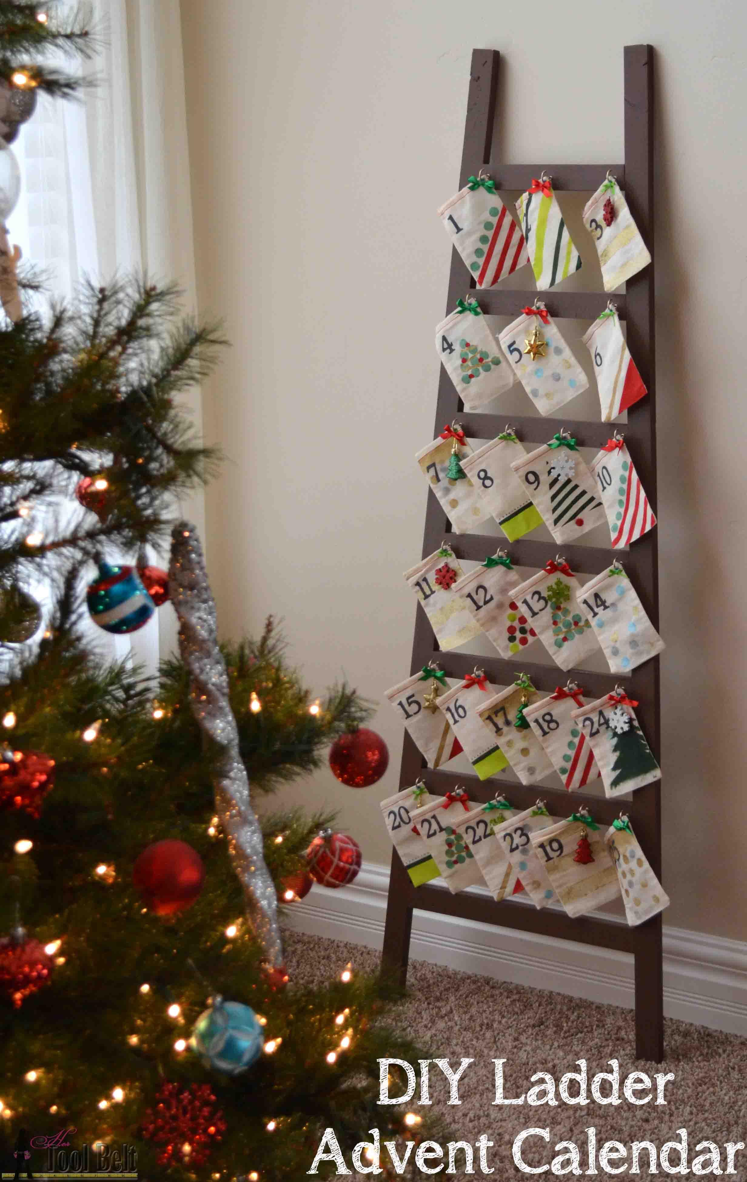 Ladder Advent Calendar Her Tool Belt