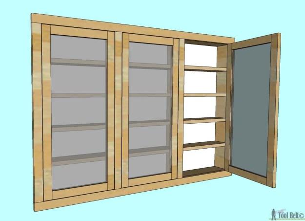 recessed medicine cabinet - her tool belt