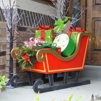 DIY Santa Sleigh