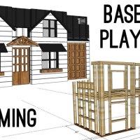 Basement Playhouse Build - Framing