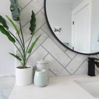 Master Bathroom Reno Reveal - Jeffrey Court All-Star Challenge