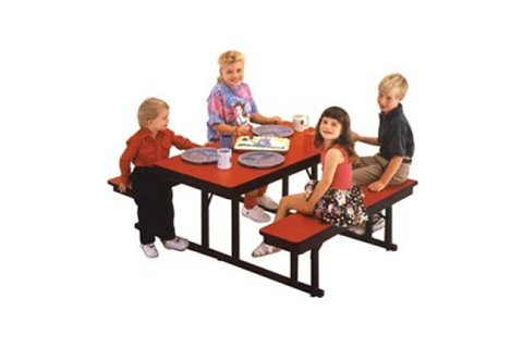Preschool Cafeteria Table Bench Units Cafeteria Tables