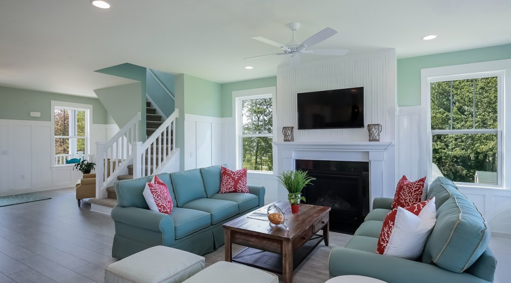 Nice home interior prepared by using a move-in cleaning checklist.