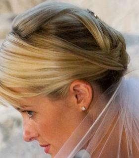 Bridal Updo Style #3