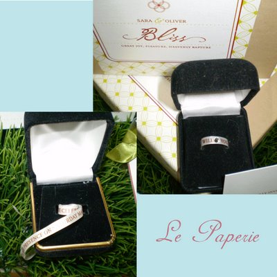 "Le paperie, ""Out of the Box"" Wedding Invitation"