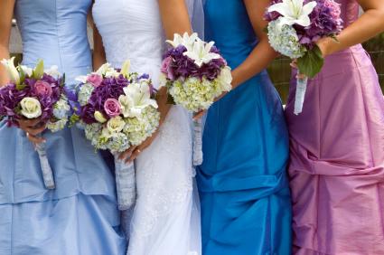 Bright Beautiful colored dresses
