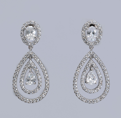 Tejani Bridal jewelry, earrings