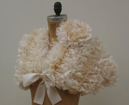 Wedding Ruffled Capelet