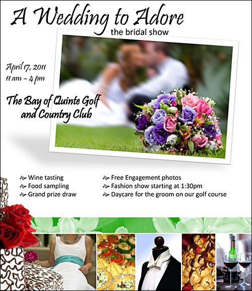 A Wedding to Adore Bridal Show Quinte